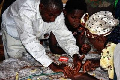 Batwa mapping workshop