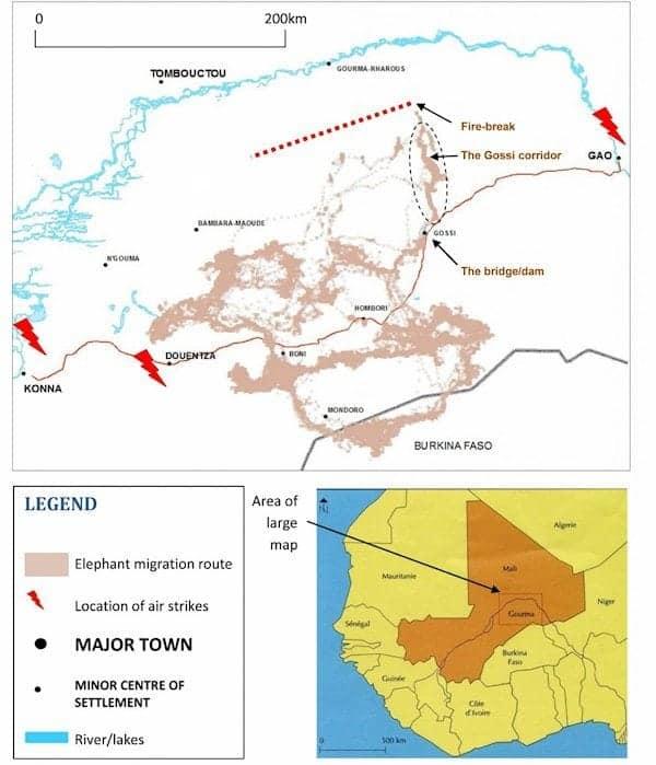 Mali At War Map