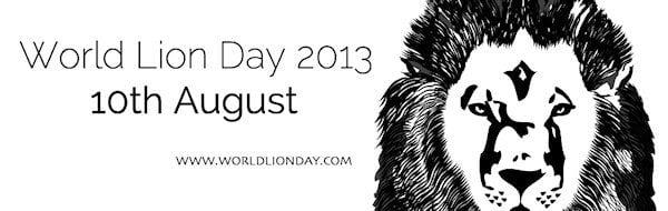 World Lion Day Banner