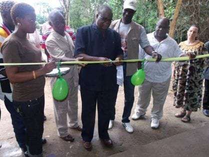 Liberia: Sapo Conservation Center Launched