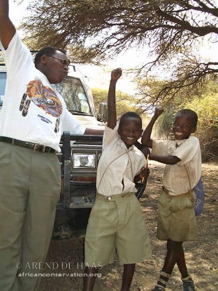 Sebastian Chuwa believed strongly in the importance of environmental education (Photo: Arend de Haas)