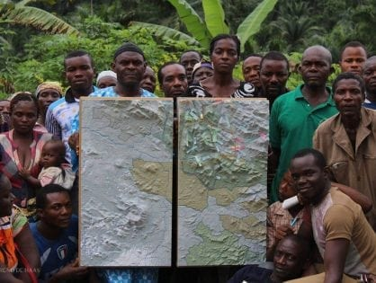 Cameroon's First Participatory 3D Mapping for Forest Monitoring and Conservation Management