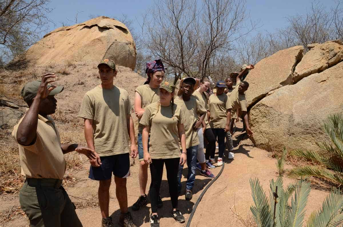 """""""BushBuddies"""" programme brings learners from different sides of the socio-economic divide together and closer to nature in Selati Game Reserve, South Africa"""