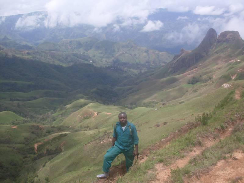 Mt Bamboutos landscape