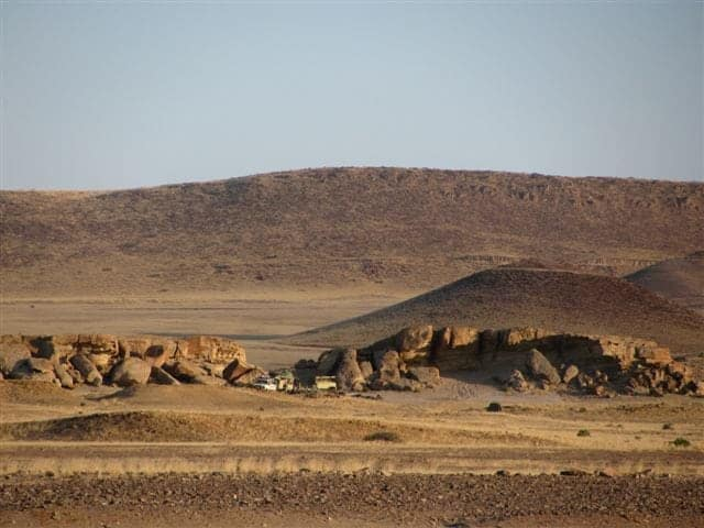 hyena camp trek