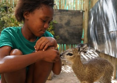 Working with wildlife and underpriviledged children 12