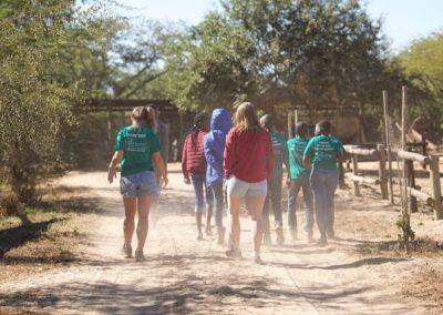 Working with wildlife and underpriviledged children 14