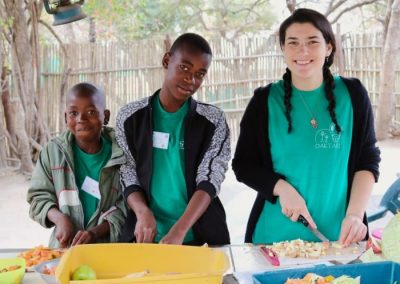 Working with wildlife and underpriviledged children 6