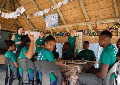 Working with wildlife and underpriviledged children 8