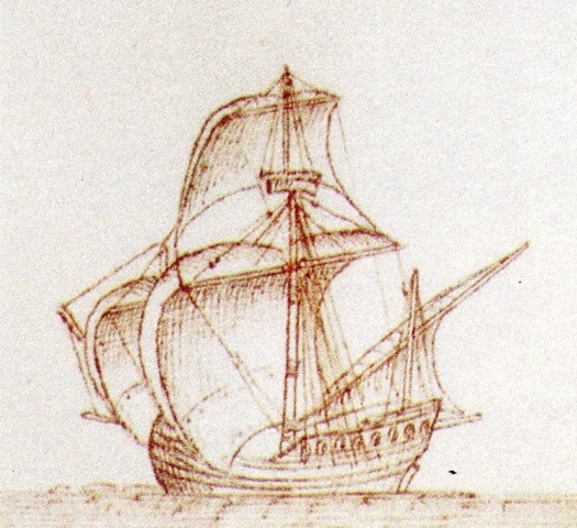 Portuguese trading vessel Bom Jesus